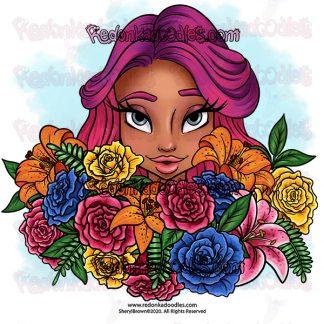 Beauty Bouquet Digital Stamp