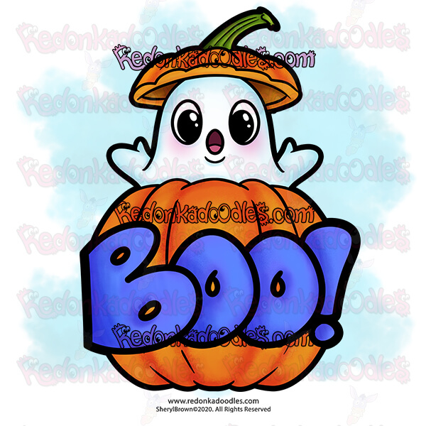 Free Halloween Digital Stamp – For Card Making
