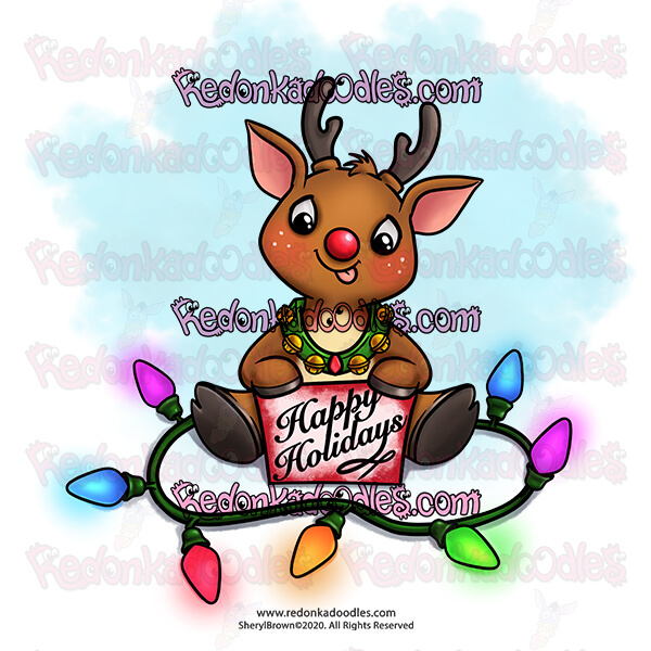 Digital Stamp Freebie – Christmas Gift for YOU!