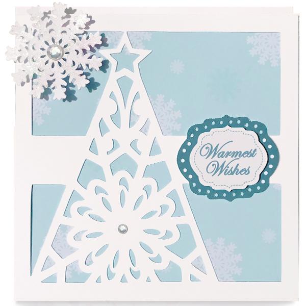 Holiday Tree Digital Die Cut Set