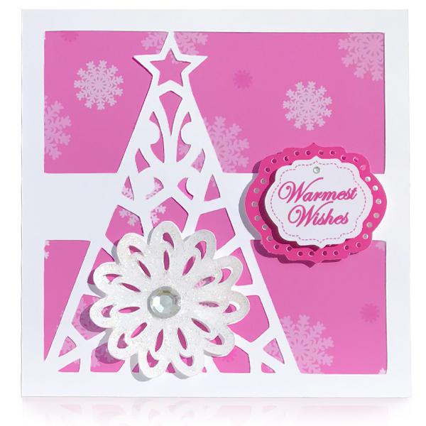Holiday Tree - Digital Die Cut